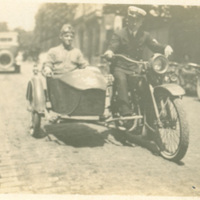Soldiers with Motorcycle