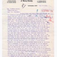 WA Ritter to Woodrow Wilson