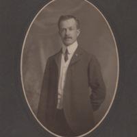Standing Portrait of Man in Suit