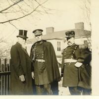 Gov. Mann of VA in Staunton for Wilson's Visit