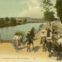 Views of Vichy, France