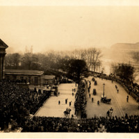 Photograph of President Wilson's Arrival to Paris