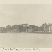Mud Village - River Nile
