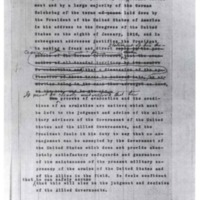 Draft of Notes on the Peace Terms