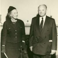 Emily Smith and Senator Byrd