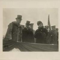 Woodrow Wilson, Jean Jules Jusserand and Edith Bolling Wilson