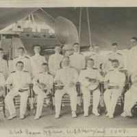 Ward Room Officers, USS Maryland