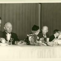 Eisenhower Talking to Emily Smith