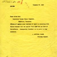 Attorney General A. Mitchell Palmer to Henry Allen Boyd