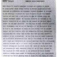 Herbert Hoover to Joseph P. Cotton
