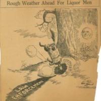 Rough Weather Ahead for Liquor Men
