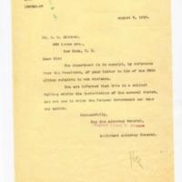 Robert P. Stewart to OM Skinner
