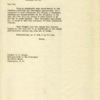 Cary T. Grayson to Edwin M. Watson
