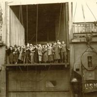 Pier #3 in Hoboken, NJ aboard SS George Washington