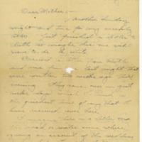 Earl S. Parish to Mrs. Wells Parish