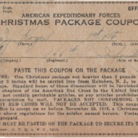 Expeditionary Forces Christmas Pack Coupon: Thomas J. Koger