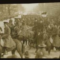 Procession at Woodrow Wilson's Second Inauguration