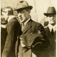 Woodrow Wilson and William G. McAdoo
