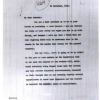 Woodrow Wilson to Key Pittman