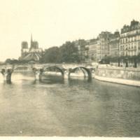 Notre Dame and Seine River, Paris