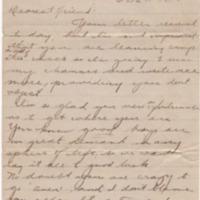 Ruth L. Hubble to Earl S. Parish