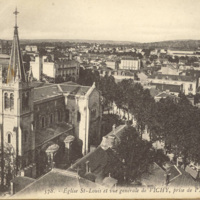 Book of Postcards of Vichy, France