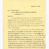 James L. Wilmeth to J. Silas Harris