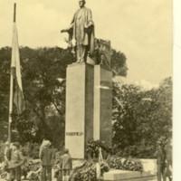 Wilson Monument in Prague, Czech Republic
