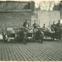 Soldiers with Motorcycles