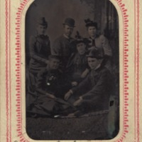 Group photo taken in Darien, Georgia