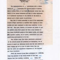 Memorandum re: Convention of Black Editors