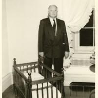 Senator Bryd in the Manse Nursery
