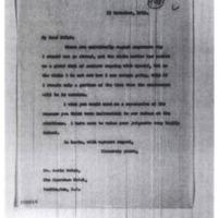 Woodrow Wilson to Gavin McNab