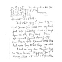 Edith Bolling Wilson to Sallie White Bolling