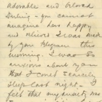 William G. McAdoo to Eleanor Randolph Wilson McAdoo