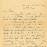 Herbert L. B[uck?] to Ruth Starr