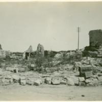 Unidentified Ruins, near Bellicourt, France
