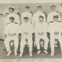 Warrant Officers, USS Maryland