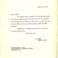 JH Case to Frank L. Polk