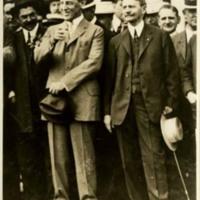 Woodrow Wilson and Thomas R. Marshall