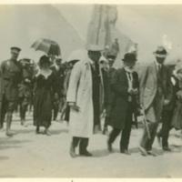 Woodrow Wilson in Ypres, Belgium