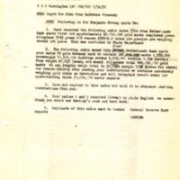 Robert Lansing to Benjamin Strong Jr. about American Mission, Paris