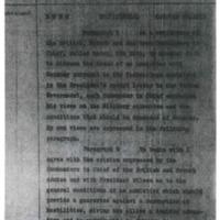 General Pershing to Newton D. Baker