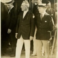 Woodrow Wilson and Joseph P. Tumulty