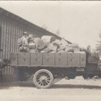 Soldiers with Loaded Truck