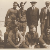 FDR with Servicemen