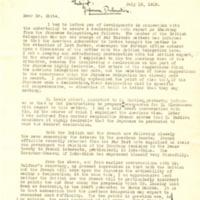 Stanley K. Hornbeck to Henry White