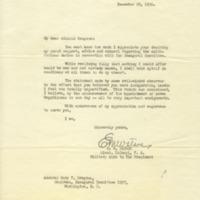 Edwin M. Watson to Cary T. Grayson