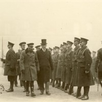 Wilson and George V in England