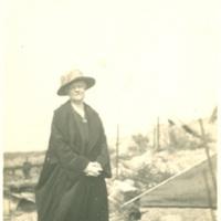 Eleanor Foster Lansing in No Mans Land, Argonne